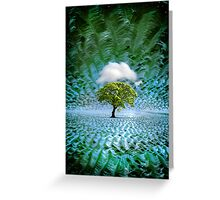 Cloud Cover Recurring Greeting Card
