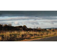 A Sunburnt Country Late Afternoon - Donnybrook, Victoria Photographic Print