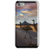 3 Emu's iPhone Case/Skin