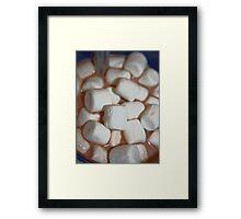 Marshmallow Mountain Framed Print
