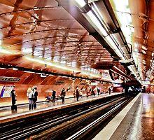 Arts et Metier Metro station by Alexander Meysztowicz-Howen