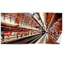 Arts et Metier Metro station Poster
