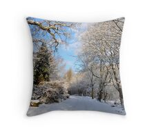 Colzium Estate,Kilsyth,Scotland Throw Pillow