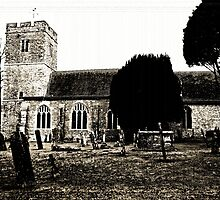 All Saints Church, Hollingbourne - Old by Dave Godden
