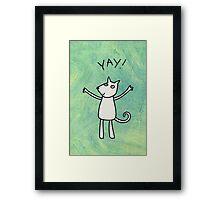 Yay! Framed Print