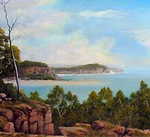 CLIFFTOP OCEAN VIEW by John Cocoris