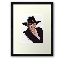 Lee Van Cleef - without background Framed Print