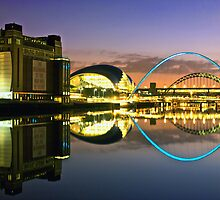 Tyne Reflections by parsy72