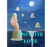 INFINITE  LOVE Photographic Print