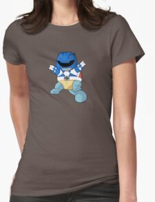 Blue Ever Evolvin PokeRanger Womens Fitted T-Shirt
