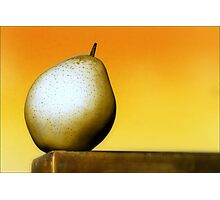 Pear of One Photographic Print