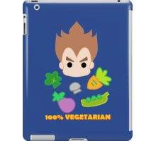 Vegeta - 100percent vegetarian iPad Case/Skin
