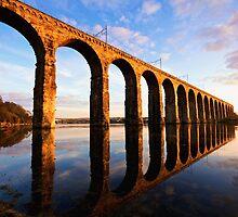 The Royal Border Bridge, Berwick Upon Tweed by parsy72