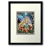 Art Nouveau: Fairy of the Night Framed Print
