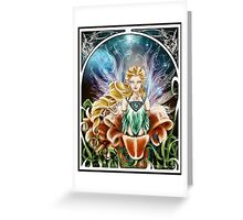 Art Nouveau: Fairy of the Night Greeting Card