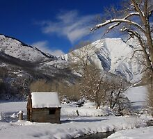 Winter's Retreat by Gene Praag