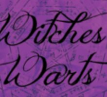 Witches Warts Sticker