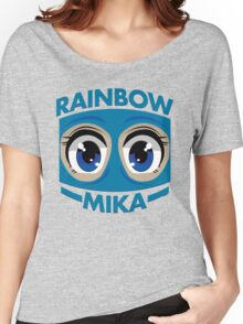 RAINBOW MIKA Women's Relaxed Fit T-Shirt