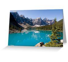 Moraine Lake, Banff National Park Canada Greeting Card