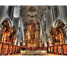 Alter - Landsberg am Lech Cathedral Photographic Print