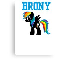 20% Cooler Brony Canvas Print