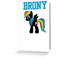 20% Cooler Brony Greeting Card