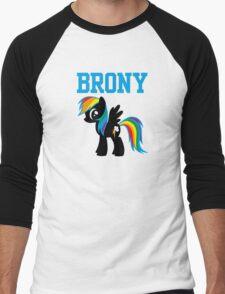 20% Cooler Brony Men's Baseball ¾ T-Shirt