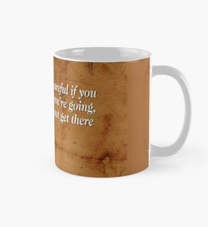 Going Nowhere (Quotation) Mug