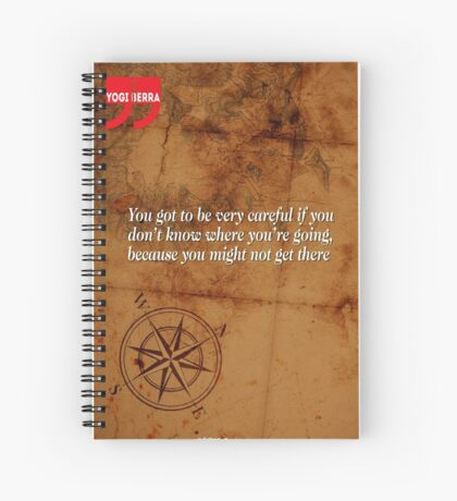 Going Nowhere (Quotation) Spiral Notebook