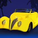 Ford Roadster 1937 in the Palms by ChasSinklier