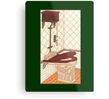 Bathroom Picture One Metal Print