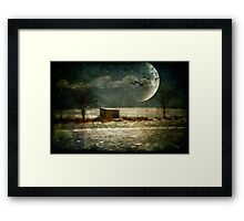 Moonstruck Framed Print
