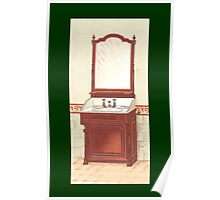 Bathroom Picture Wash stand One Poster