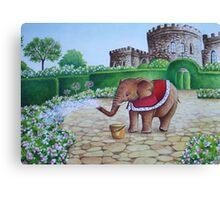 Elephant Prince Canvas Print