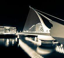 Samuel Beckett Bridge, Dublin, Ireland by thesiracusas