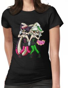 Squid Sisters Womens Fitted T-Shirt