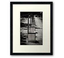 OKC Bombing Memorial Framed Print