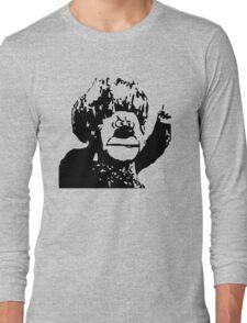 Christmas Heat Miser Stencil Long Sleeve T-Shirt
