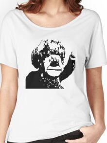 Christmas Heat Miser Stencil Women's Relaxed Fit T-Shirt