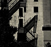 Staircases to Somewhere. by Sharlene Rens