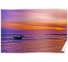 Lytham Sunset Poster
