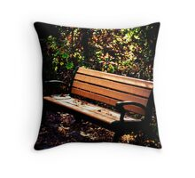 Restful Autumn Throw Pillow