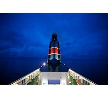 5 ★★★★★ . Nighfall on Baltic Sea  on a board  MF Scandinavia . by Brown Sugar. F* Featured in All Water in Motion and Reflections in Water . Favorites: 2 Views: 712 . thx! Photographic Print
