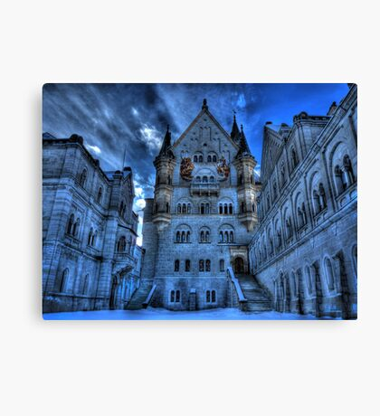 A Mad King's Courtyard Canvas Print