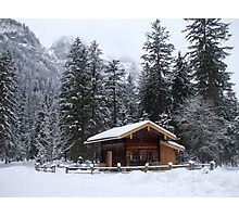 Christmas Day in Bavaria  Photographic Print