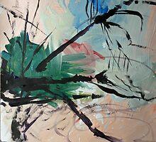 Leaping Tree by John Fish