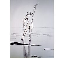Figure sketch Photographic Print