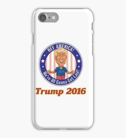 Trump 2016! iPhone Case/Skin