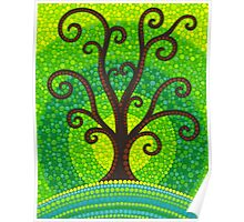 unfurling tree of lushiousness Poster