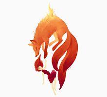 Fire Fox Womens Fitted T-Shirt